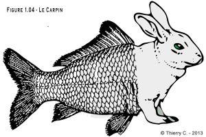 Le Carpin, croisement de la carpe et du lapin